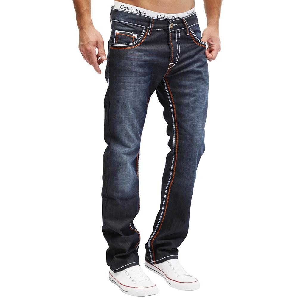 merish herren jeans 7 modelle dicke naht destroyed mix chino denim neu ebay. Black Bedroom Furniture Sets. Home Design Ideas